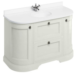 Casa Padrino washing cabinet / washbasin with marble top doors and drawers
