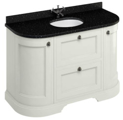 Casa Padrino washing cabinet / washbasin with granite top doors and drawers - Limited Edition