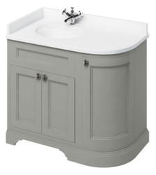 Casa Padrino washing cabinet / washbasin with marble top and 3 doors  - Hotel Restaurant Furniture
