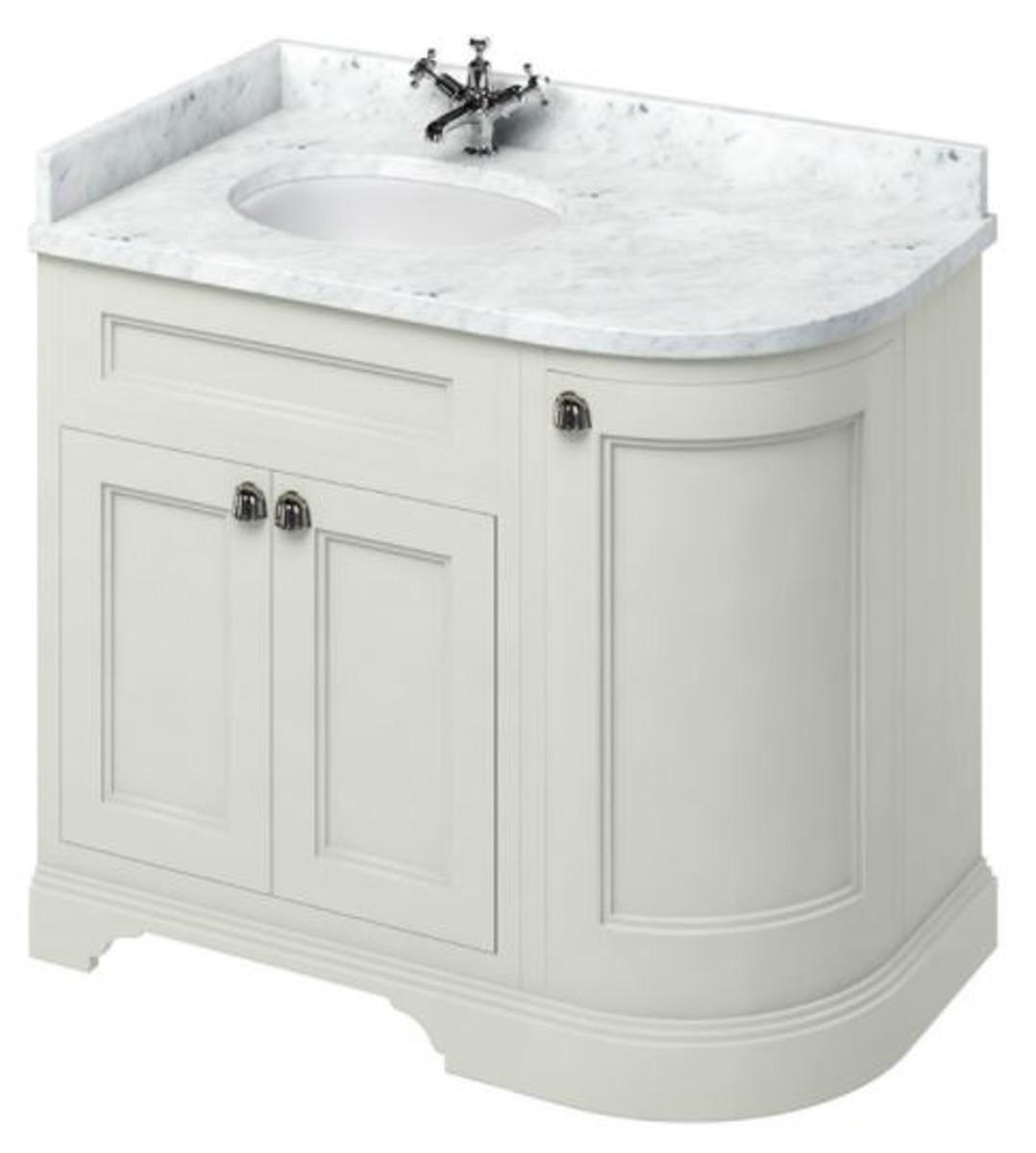 casa padrino waschschrank waschtisch mit marmorplatte und 3 t ren antik stil m bel. Black Bedroom Furniture Sets. Home Design Ideas