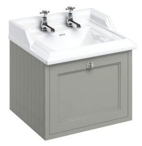 Casa Padrino Luxus Hänge-Waschschrank mit Schublade - Antik Stil Waschtisch – Bild 3