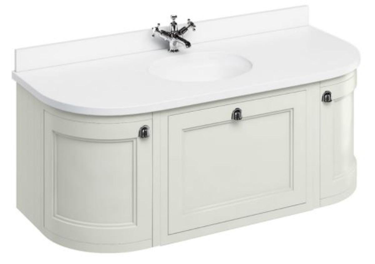 casa padrino luxus h nge waschschrank waschtisch mit marmorplatte schublade und 2 t ren. Black Bedroom Furniture Sets. Home Design Ideas