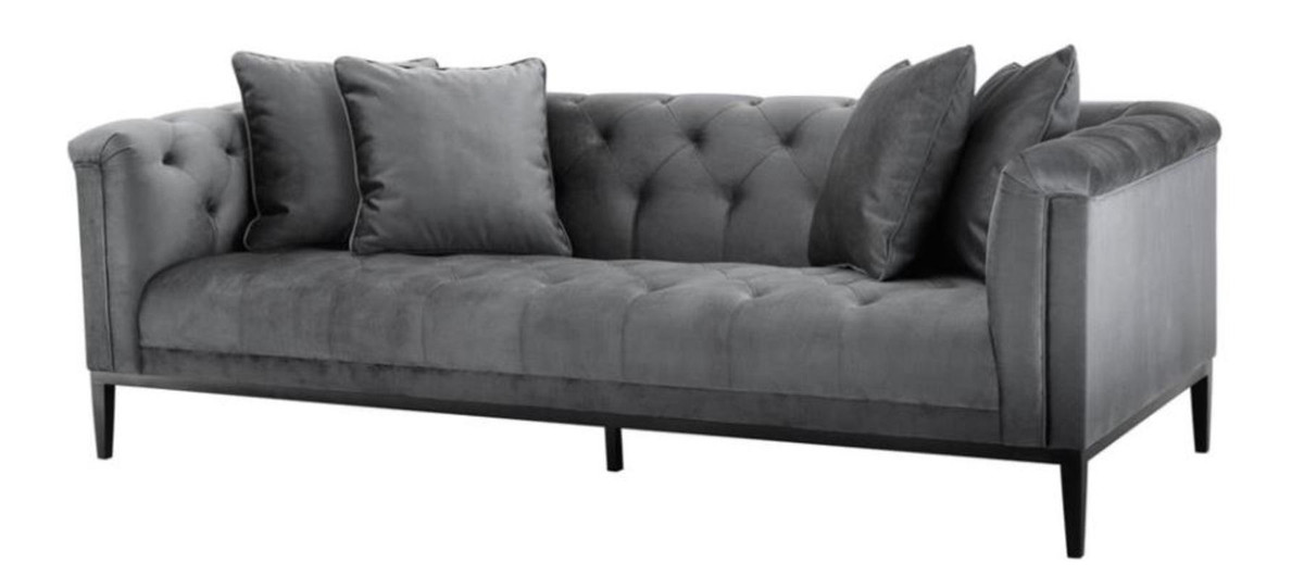casa padrino luxus sofa grau wohnzimmer m bel sofas luxus hotel sofas. Black Bedroom Furniture Sets. Home Design Ideas