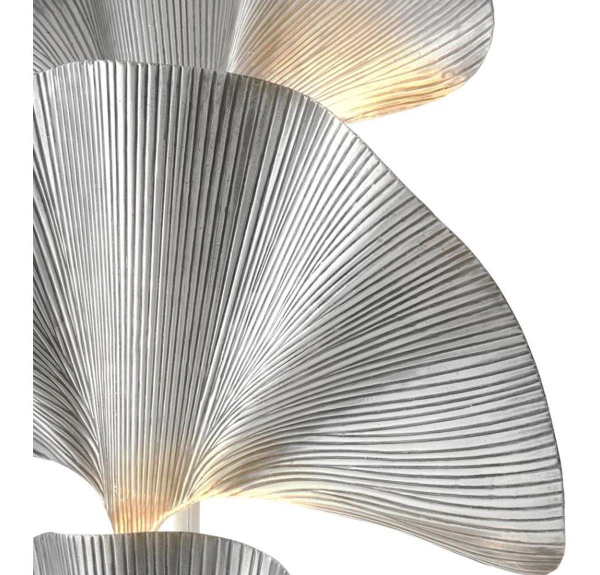 Großartig Stehleuchte Silber Ideen Von Casa Padrino 80 X H. 197 Cm