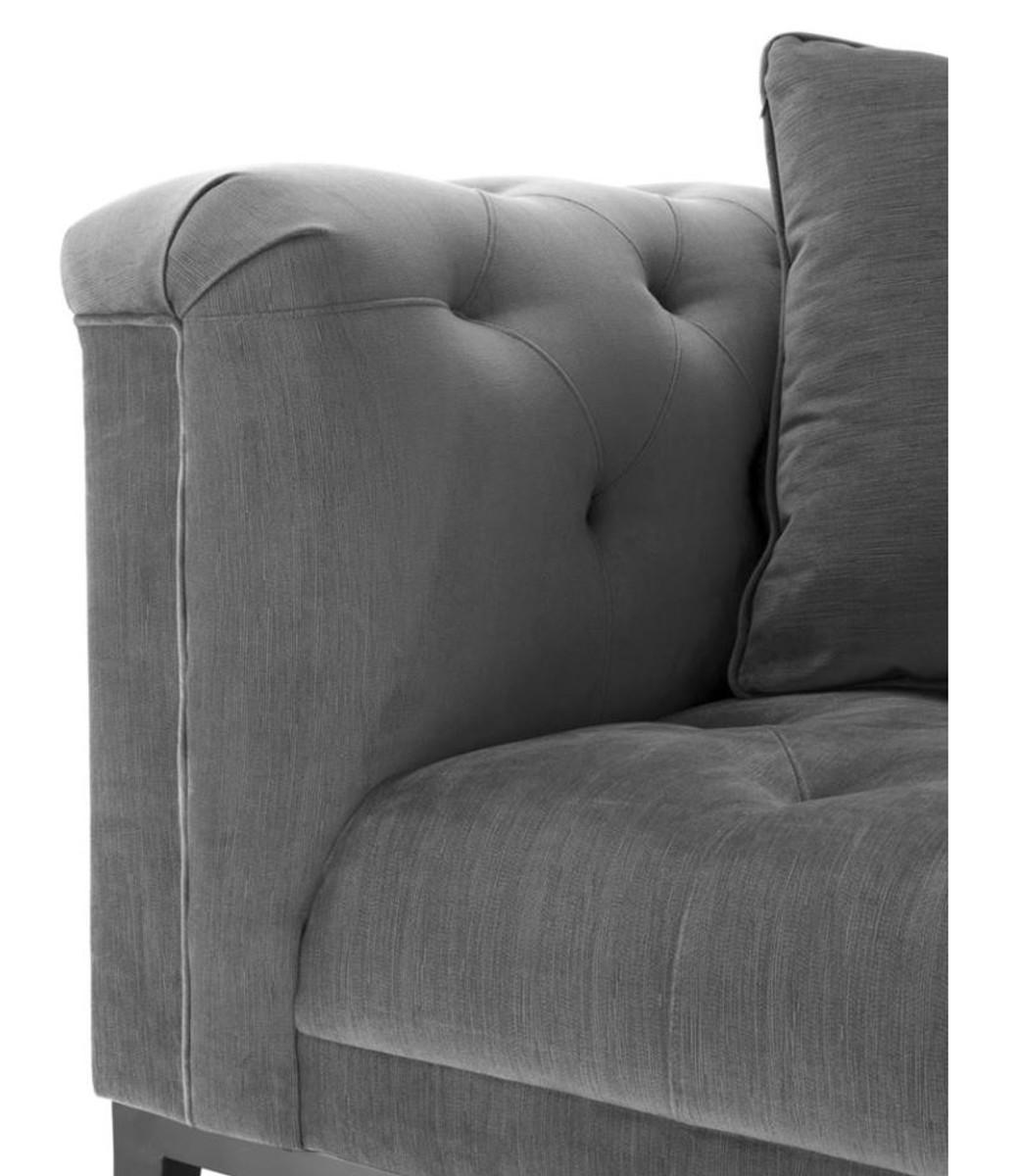 casa padrino luxus sessel grau wohnzimmer m bel sessel. Black Bedroom Furniture Sets. Home Design Ideas