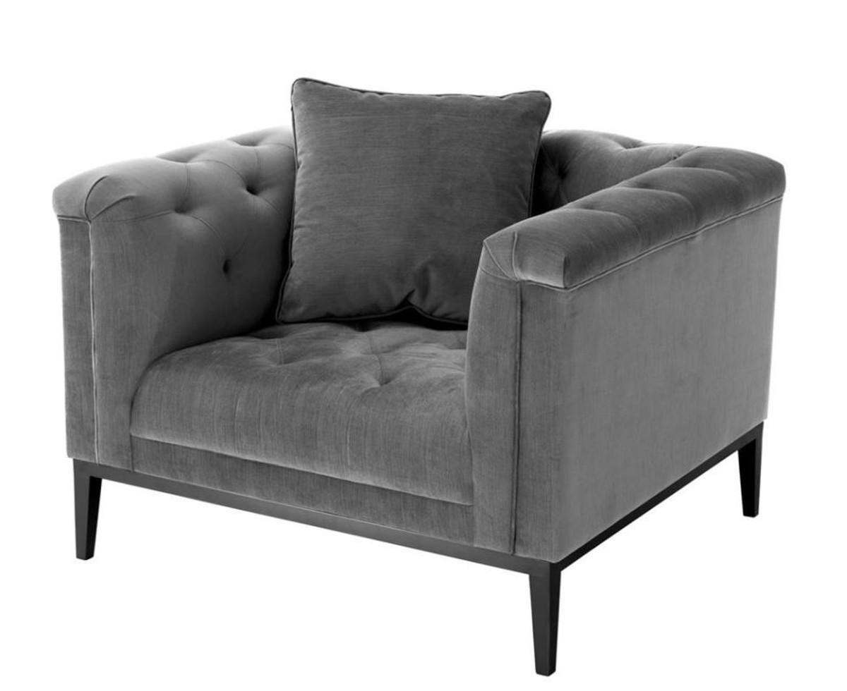casa padrino luxus sessel grau wohnzimmer m bel sessel luxus hotel restaurant sessel. Black Bedroom Furniture Sets. Home Design Ideas