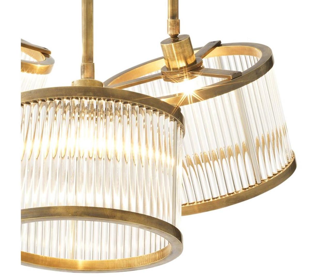 casa padrino luxus deckenleuchte durchmesser 70 x h 119 cm m bel l ster leuchter deckenlampe. Black Bedroom Furniture Sets. Home Design Ideas