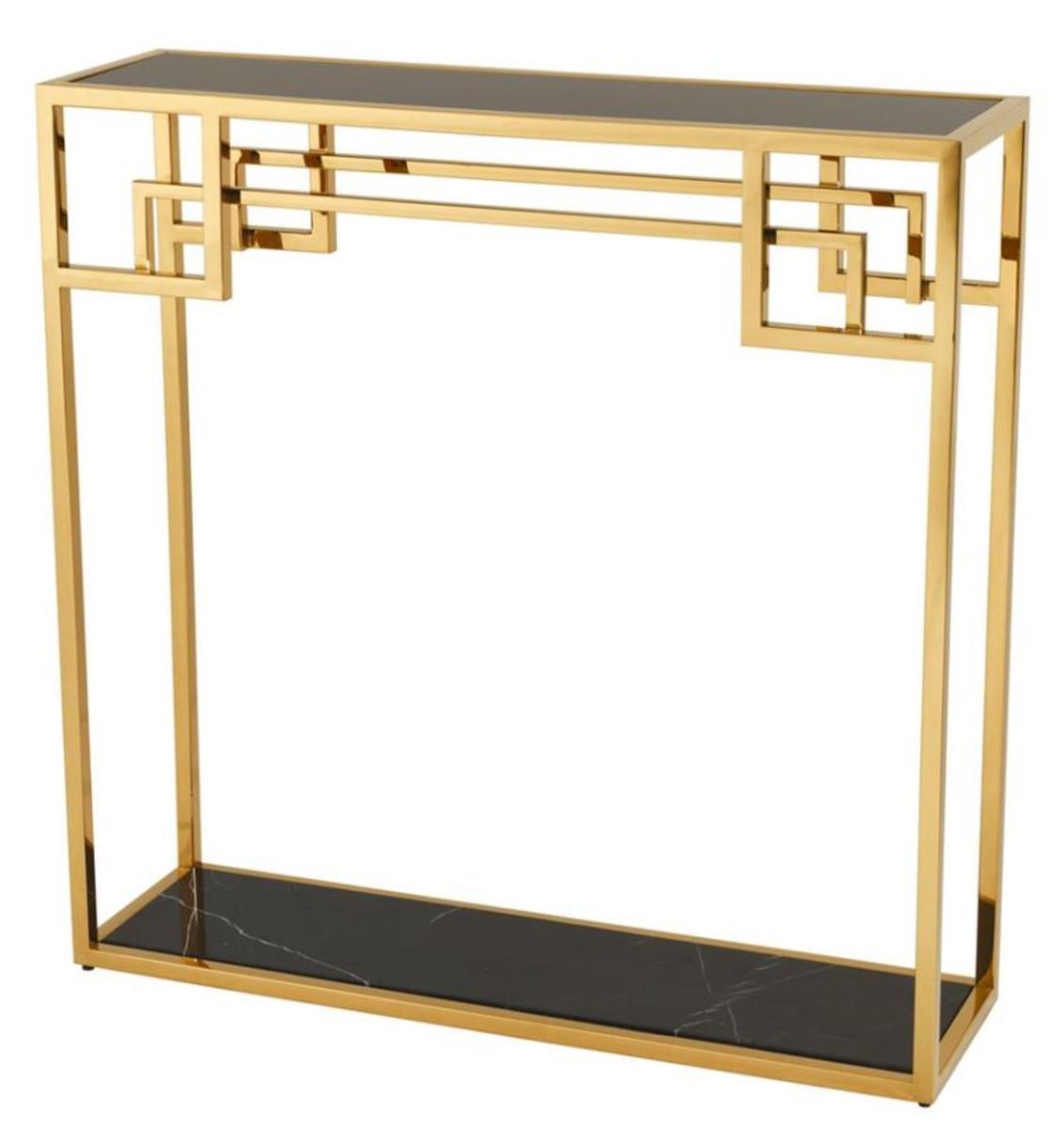 casa padrino art deco luxus konsolentisch gold designer. Black Bedroom Furniture Sets. Home Design Ideas