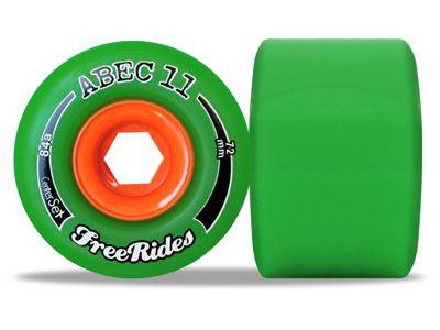ABEC 11 Classic Centerset FreeRides 78A 72mm Rollen (4 Stück) - Longboard Wheels