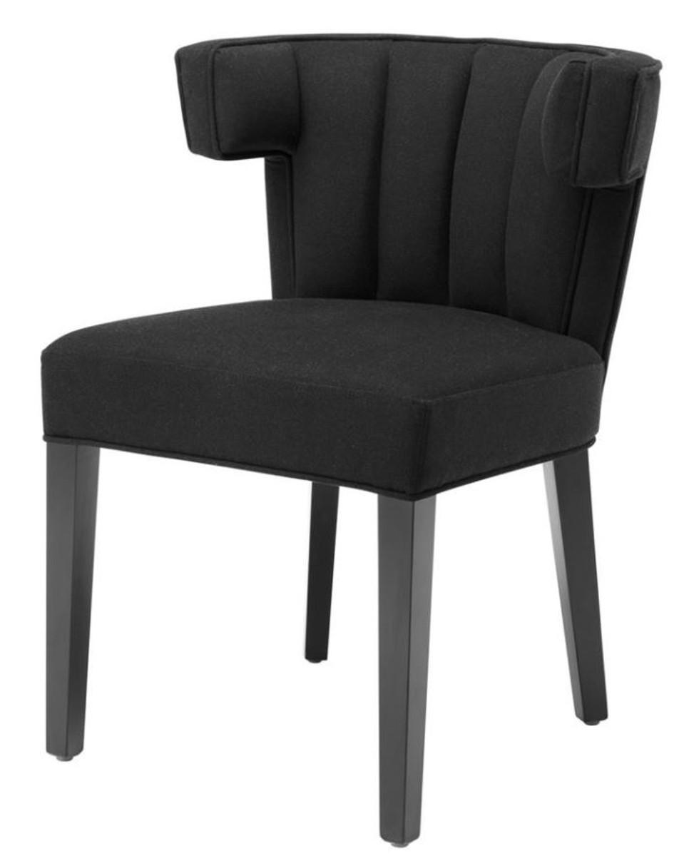 casa padrino luxus esszimmerstuhl schwarz designer m bel st hle luxus st hle luxus. Black Bedroom Furniture Sets. Home Design Ideas