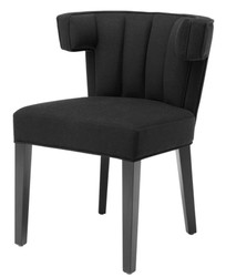 Casa Padrino Luxury dining chair black - designer furniture