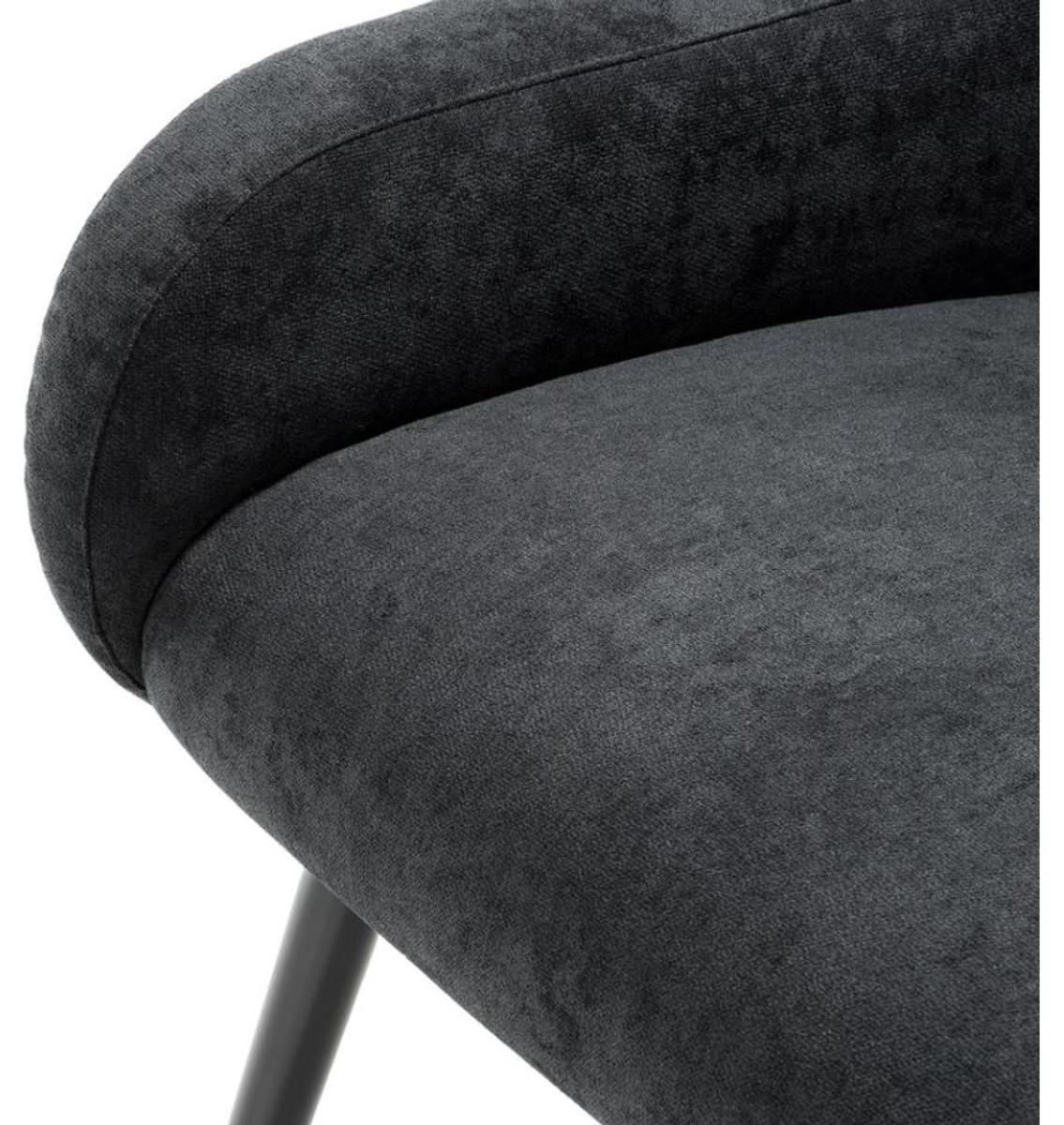 Casa padrino designer esszimmerstuhl mit armlehnen luxus for Designer esszimmerstuhl