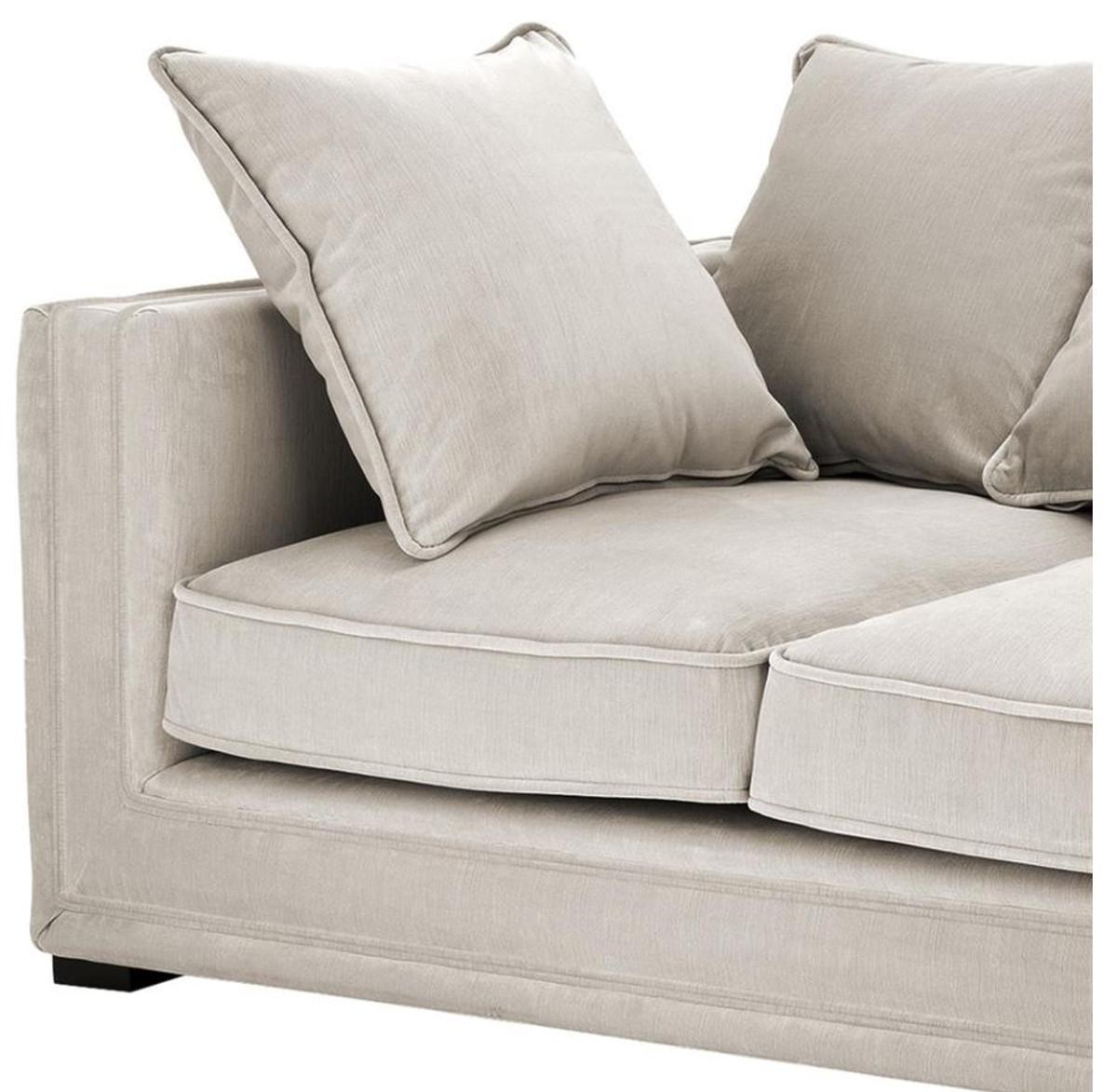 casa padrino luxus designer 3er sofa grau luxus hotel m bel sofas luxus hotel sofas. Black Bedroom Furniture Sets. Home Design Ideas