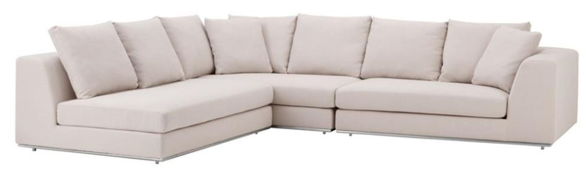 casa padrino luxus sofa naturfarbig designer ecksofa sofas luxus hotel sofas. Black Bedroom Furniture Sets. Home Design Ideas