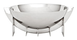 Casa Padrino designer stainless steel bowl 30 x H. 12 cm - luxury quality