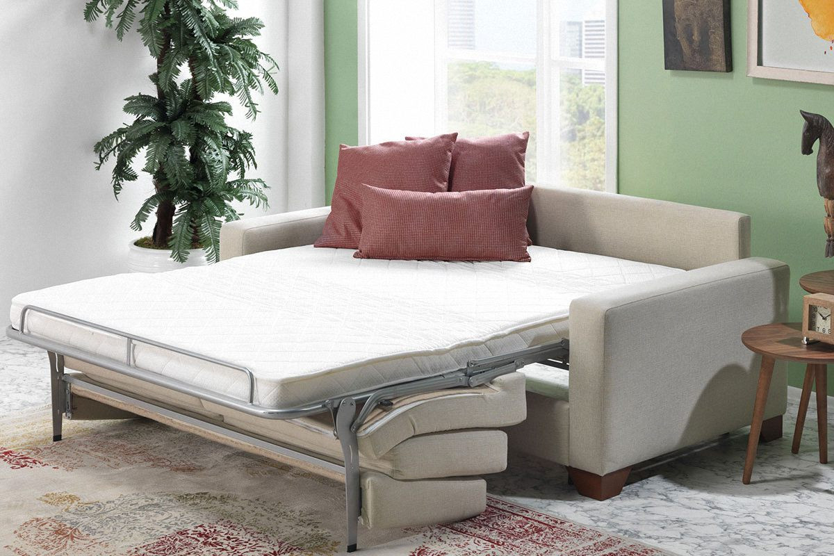 - Casa Padrino Designer 3 Seater Sofa Bed With Folding Bed Florence