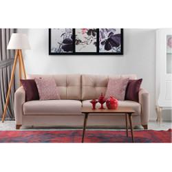 Casa Padrino Designer 3er Sofa Pisa Creme - Hotel Möbel