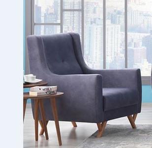 Casa Padrino Designer Club Chair Hamburg Taupe-Grey - Hotel furniture