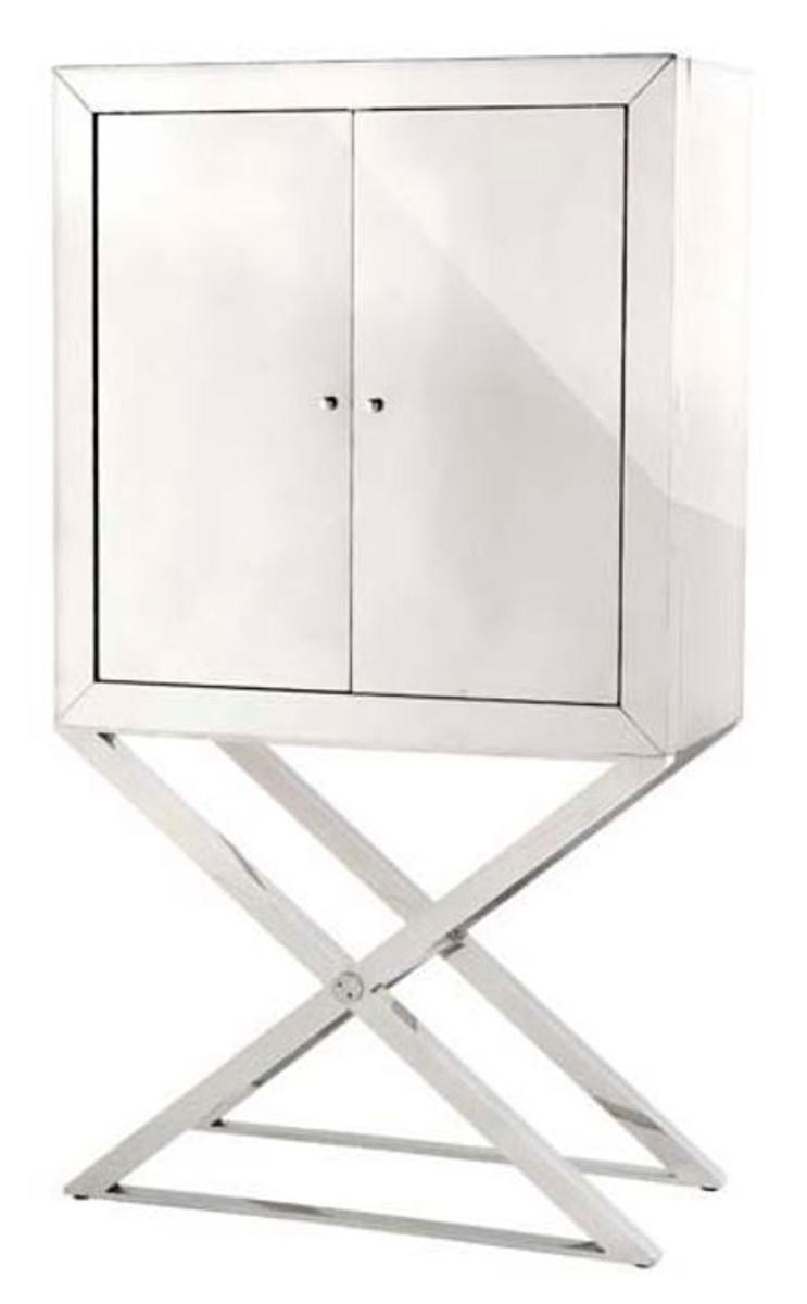 casa padrino designer edelstahl schrank silber luxus wohnzimmer m bel schr nke luxus schr nke. Black Bedroom Furniture Sets. Home Design Ideas
