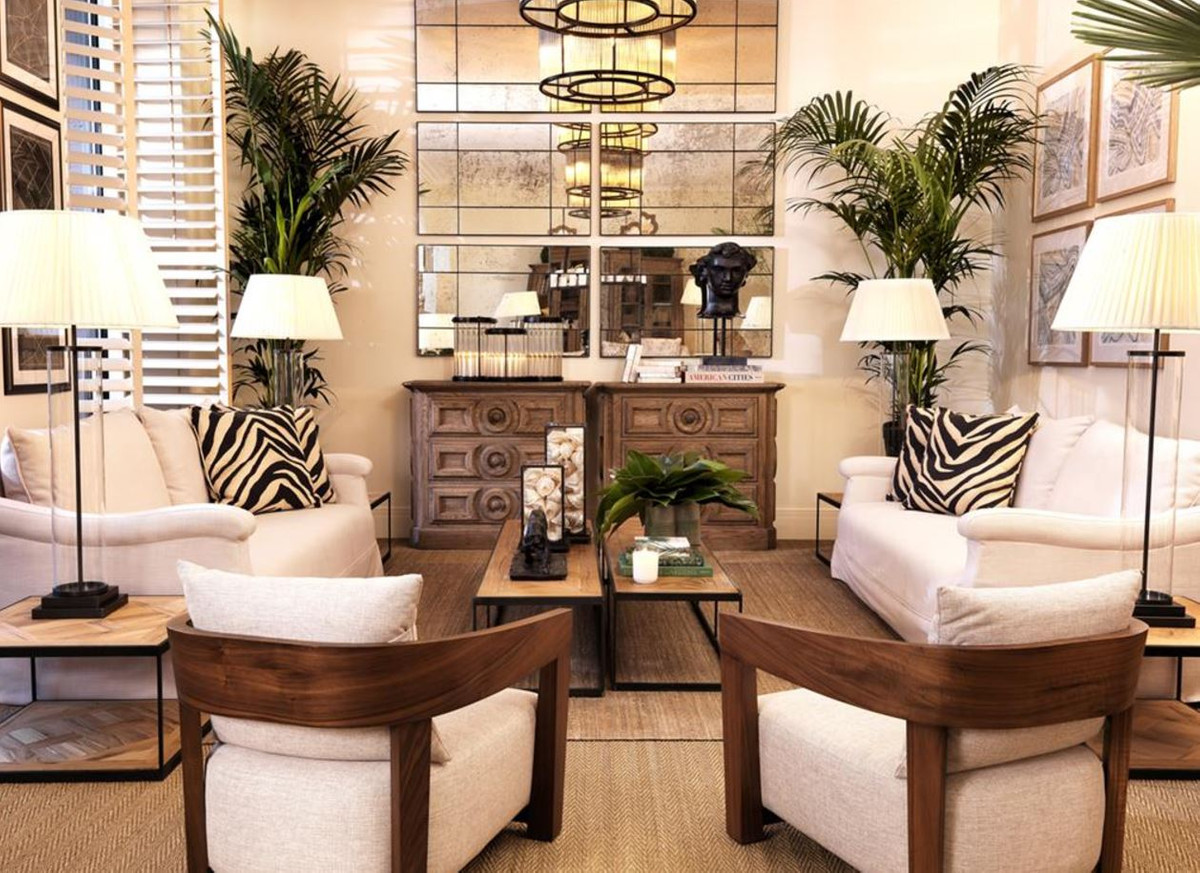 Casa padrino designer steinskulptur antik bronze luxus - Luxus dekoration ...