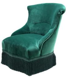 Casa Padrino designer chair green 68 x 70 x H. 79 cm - luxury collection