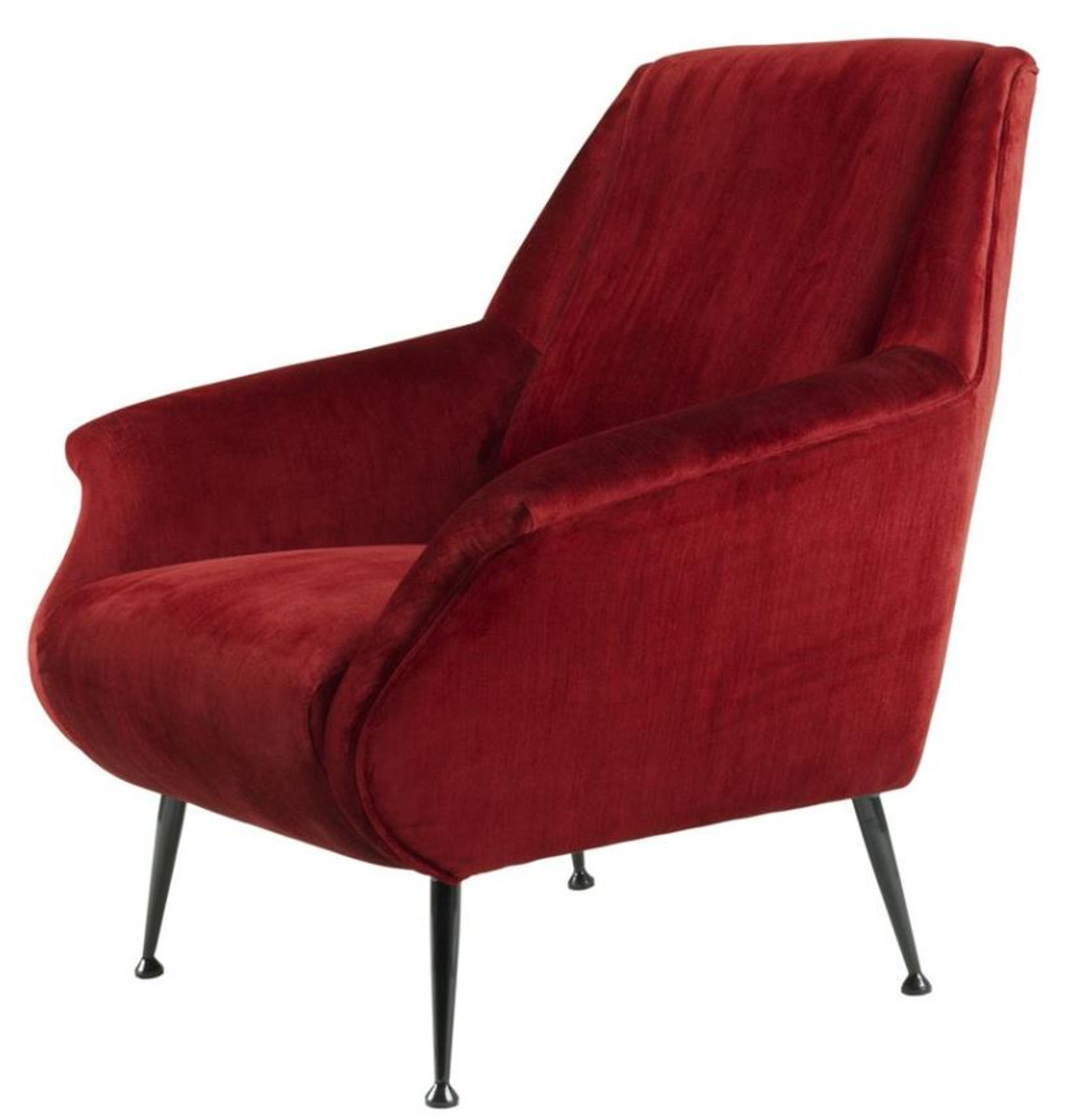 Casa padrino luxus sessel rot 88 x 80 x h 91 cm for Luxus designer sessel