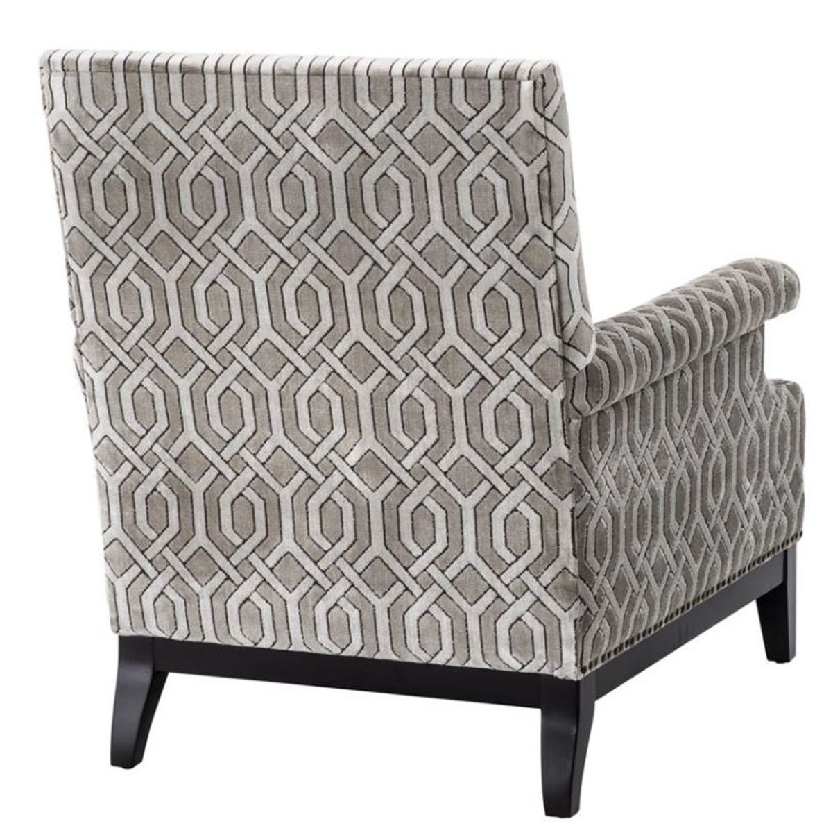 Casa padrino sessel 75 x 85 x h 93 cm luxus wohnzimmer for Luxus designer sessel