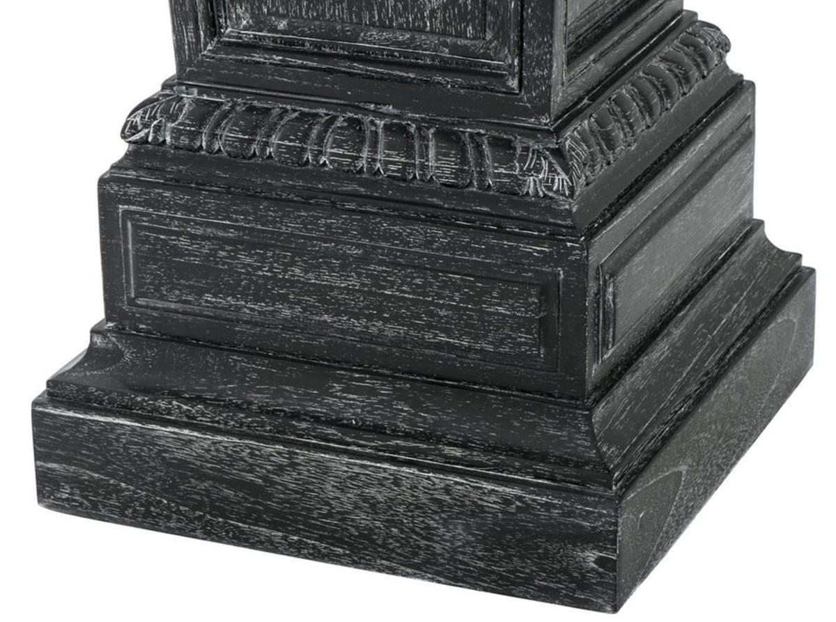 Casa Padrino Designer Säule / Beistelltisch 38 x 38 x H. 114 cm - Luxus Möbel 3