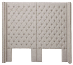 Casa Padrino luxury bed headboard 200 x H. 180 cm - designer bedroom furniture