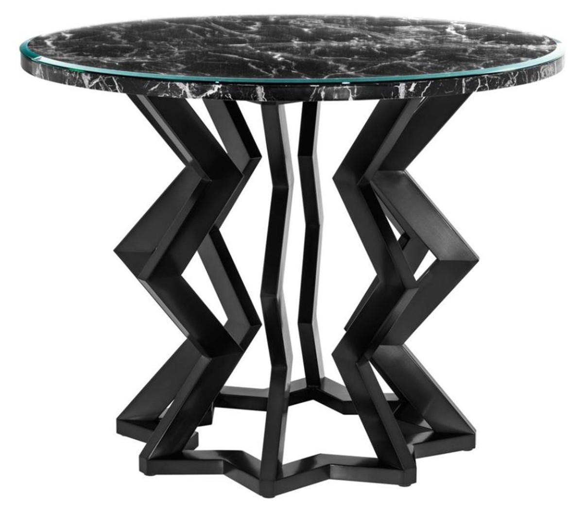 Casa Padrino Designer Hotel Salon Tisch 101 x H. 85 cm - Luxus Kollektion 1