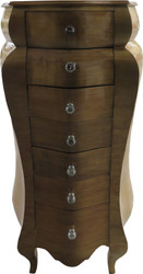 Casa Padrino Baroque Chest of Drawers Antique Gold 130.5 x 68 x 49 cm - Handmade from solid wood - Antique look