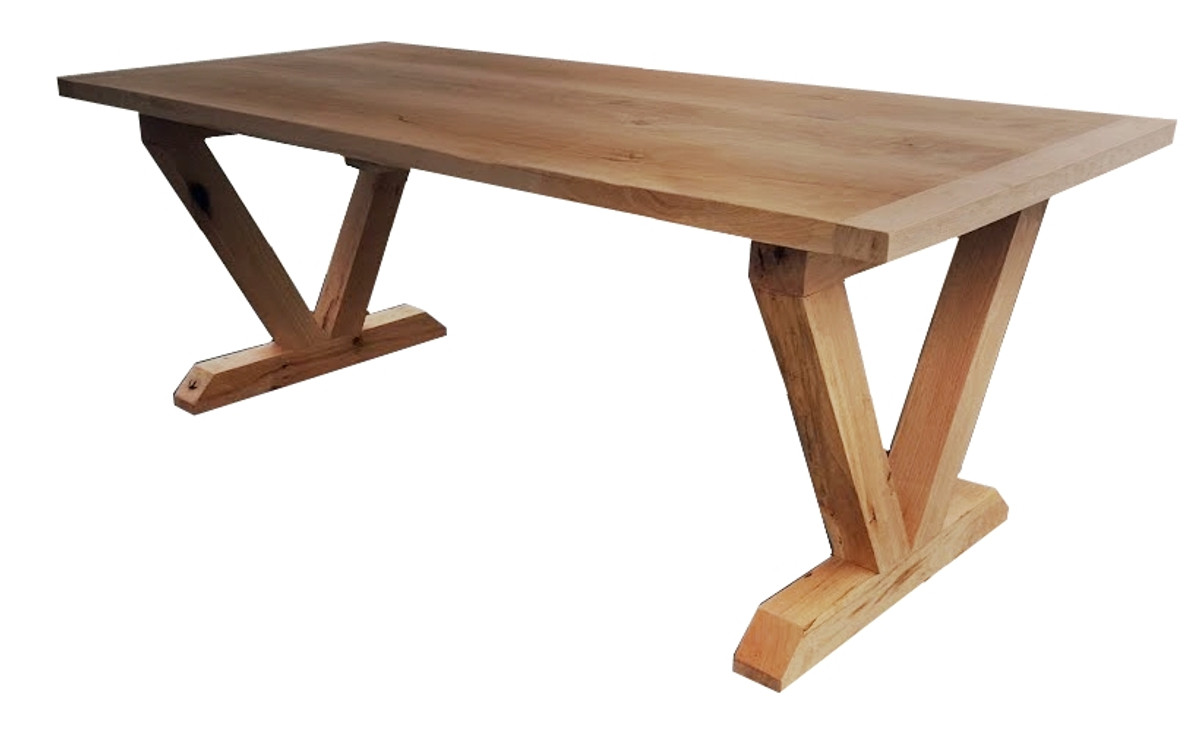 Casa padrino luxury solid wood dining table oak 200 cm for Dining table construction