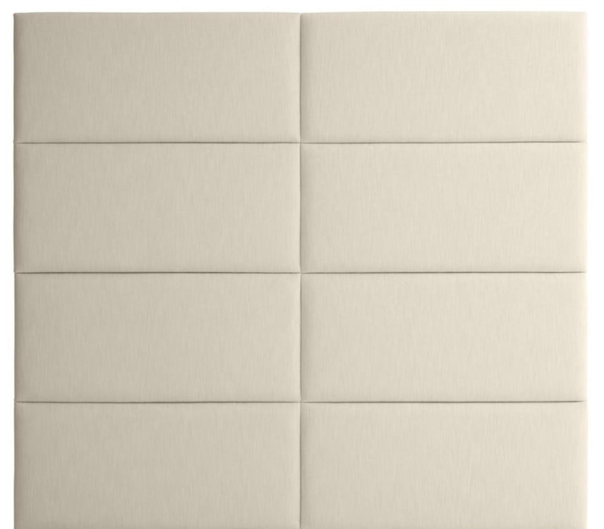 casa padrino designer bett kopfteil elfenbein 200 x h 180 cm luxus m bel betten. Black Bedroom Furniture Sets. Home Design Ideas