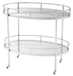 Casa Padrino luxury serving trolley 77 x 47 x H. 70 cm - hotel & restaurant accessoires