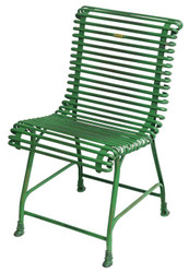 Casa Padrino Wrought iron garden chair - various colors - 44 cm x 50 cm - luxury garden furniture