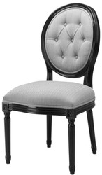 Casa Padrino luxury dining room chair 54 x 54 x H. 98 cm - hotel restaurant furniture