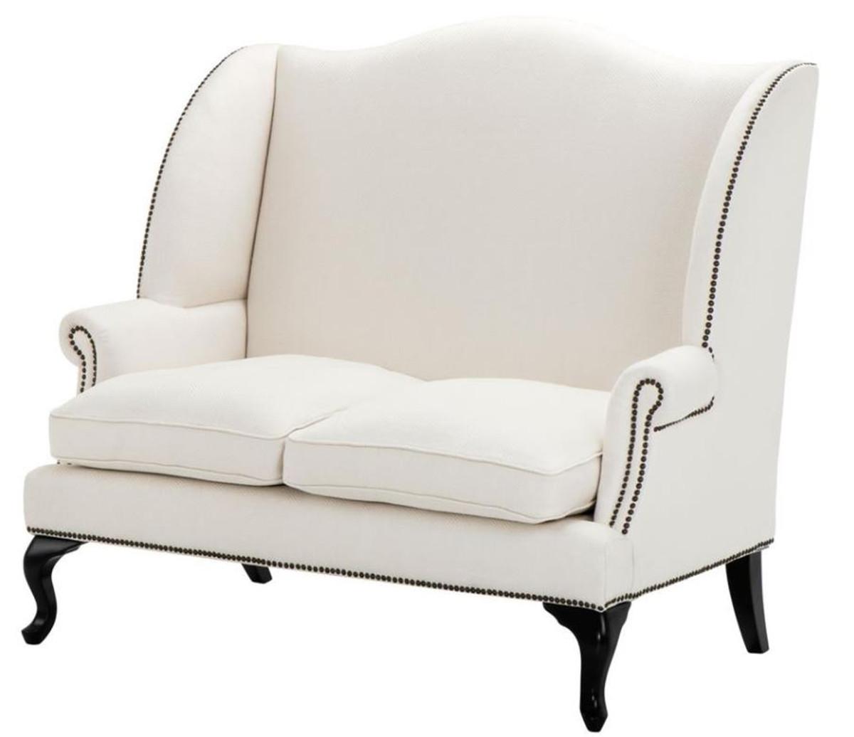 casa padrino designer sofa white 144 x 80 x h 150 cm luxury hotel furnishings sofas luxury. Black Bedroom Furniture Sets. Home Design Ideas