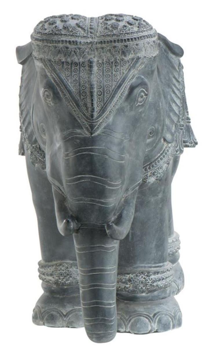 Casa padrino luxus dekoration aluminium elefant 90 x 35 x Luxus dekoration