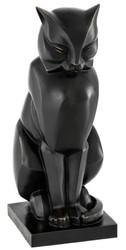 Casa Padrino luxury bronze figure cat 17,5 x 21 x H. 46 cm - art deco figure