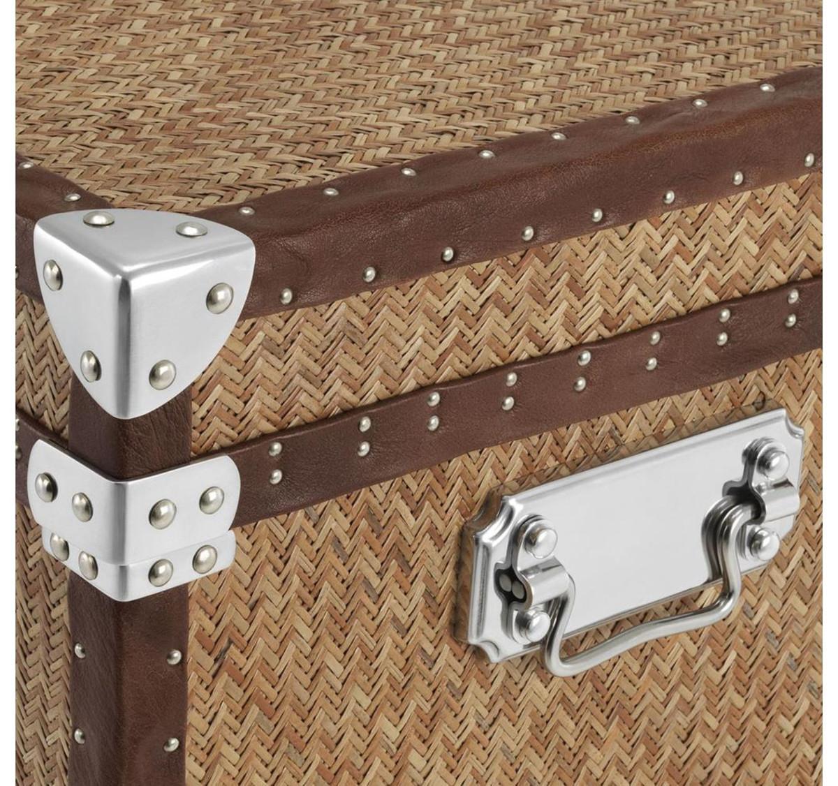 Casa padrino luxus couchtisch im vintage koffer design 85 for Tisch koffer design