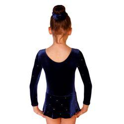 RSG-Anzug / Gymnastikanzug mit Rock und Strassmotiv – Bild 2