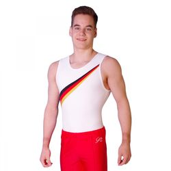 Getty-Sports Turntrikot Armin (schwarz, rot, gold) – Bild 2