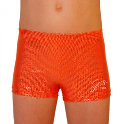 Panty / Hipster, Hologramm Metallic orange