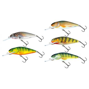 Salmo Perch Deep Runner Wobbler 8cm