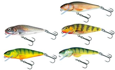 5 Salmo Perch Shallow Runner Wobbler 12cm 36g