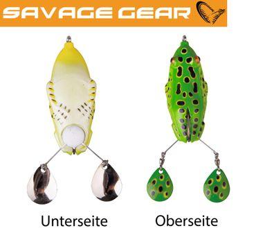 Savage Gear 3D Spin Kick Frog 15cm 22g Gummifrosch