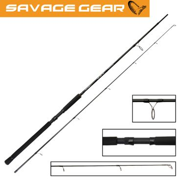 Savage Gear MPP 198cm Spin & Twitch 50g H Spinnrute