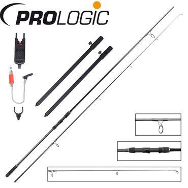 Prologic Firestarter Karpfenset Karpfenrute, Bissanzeiger, Rutenhalter