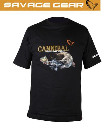 Savage Gear Cannibal T-Shirt - Angler Shirt