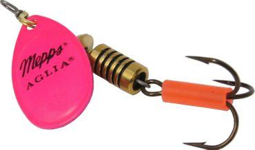 Mepps Aglia fluo pink Spinner Gr. 2